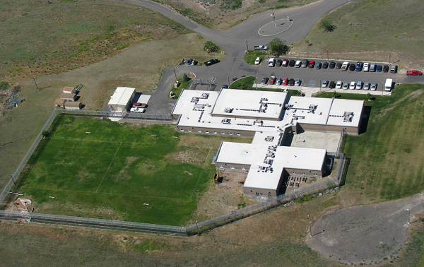 arial view of Lewiston facility